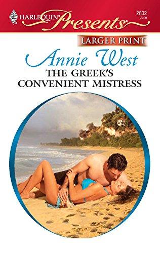 9780373235964: The Greek's Convenient Mistress