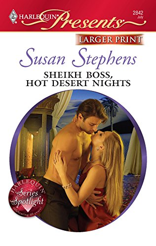 Sheikh Boss, Hot Desert Nights (0373236069) by Stephens, Susan