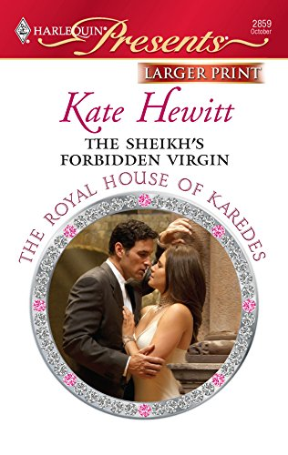 9780373236237: The Sheikh's Forbidden Virgin (Larger Print Harlequin Presents: the Royal House of Karedes)