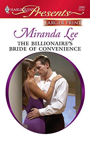 9780373236244: The Billionaire's Bride of Convenience