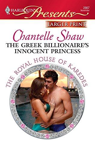 9780373236312: The Greek Billionaire's Innocent Princess (Harlequin Presents (Larger Print))