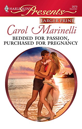 9780373236435: Bedded for Passion, Purchased for Pregnancy