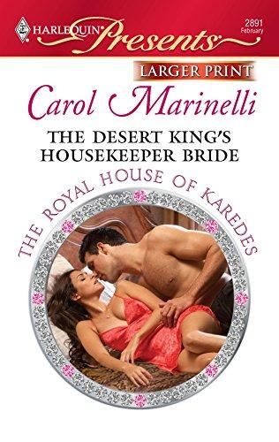 9780373236558: The Desert King's Housekeeper Bride (Harlequin Presents (Larger Print))