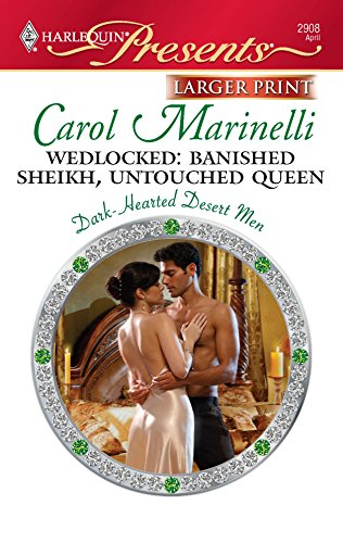 9780373236725: Wedlocked: Banished Sheikh, Untouched Queen (Harlequin Presents (Larger Print))