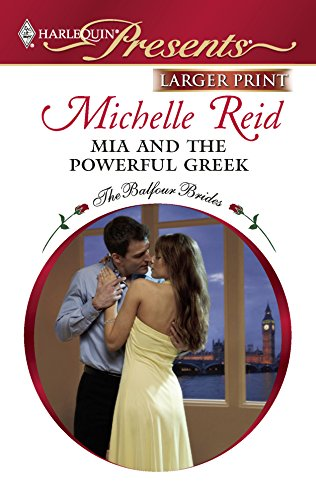 Mia and the Powerful Greek: Reid, Michelle