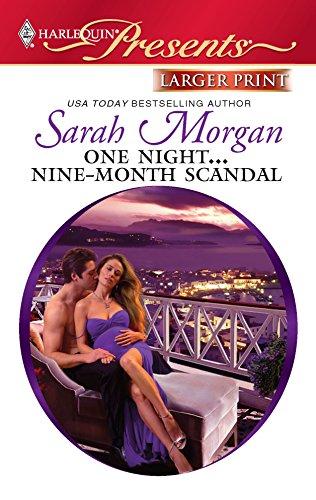 9780373237074: One Night.Nine-Month Scandal