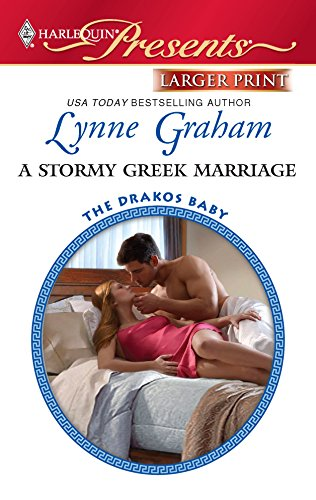 9780373237210: A Stormy Greek Marriage