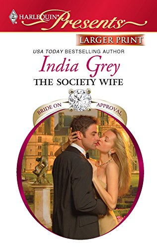 9780373237319: The Society Wife