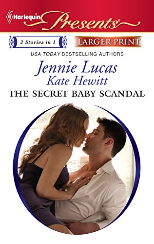 9780373237791: The Secret Baby Scandal: The Count's Secret Child\The Sandoval Baby (Harlequin Presents (Larger Print))