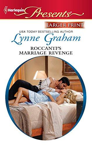 9780373238255: Roccanti's Marriage Revenge