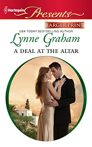 9780373238316: A Deal at the Altar (Harlequin Larger Print Presents)