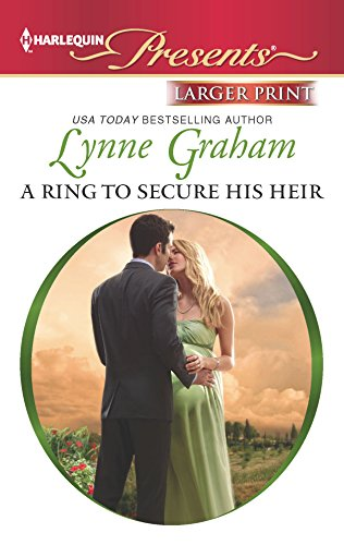 9780373238774: A Ring to Secure His Heir (Harlequin Large Print Presents)