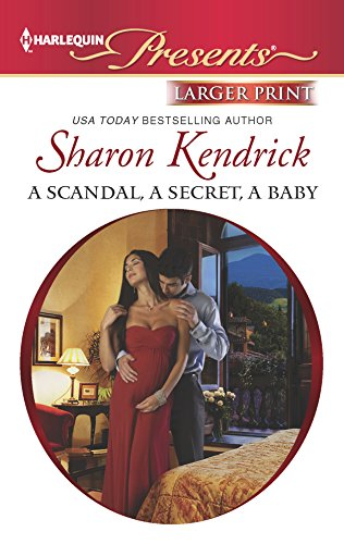 9780373238927: A Scandal, a Secret, a Baby (Harlequin Presents (Larger Print))