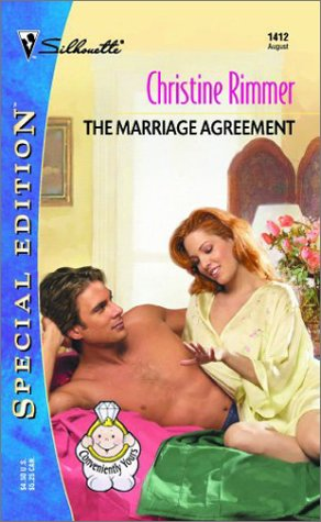 9780373244126: The Marriage Agreement (Conveniently Yours, Bravo Series (Silhouette Special Edition No. 1412)