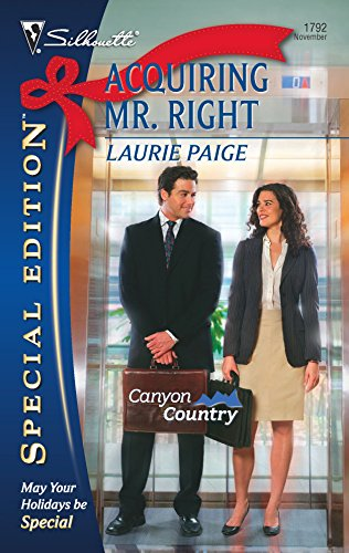 9780373247929: Acquiring Mr. Right (Silhouette Special Edition)