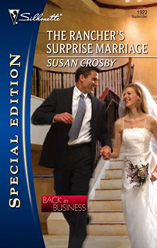 9780373249220: The Rancher's Surprise Marriage (Silhouette Special Edition)