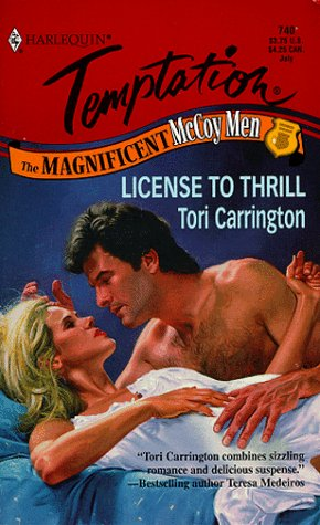 License To Thrill (The Magnificent Mccoy Men): Tori Carrington