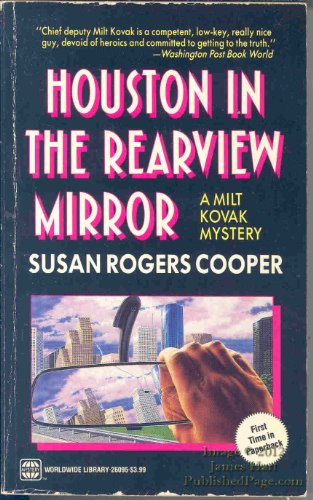 9780373260959: Houston In The Rearview Mirror (Milt Kovak, Book 2)