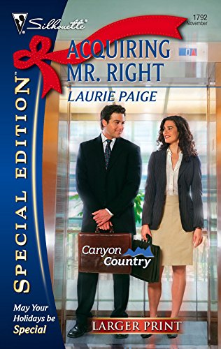 9780373280407: Acquiring Mr. Right (Silhouette Special Edition)