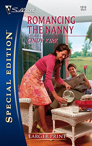 9780373280667: Romancing The Nanny (Silhouette Special Large Print)