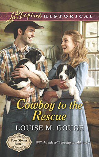 Cowboy to the Rescue (Love Inspired Historical\Four: Gouge, Louise M.