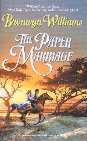 9780373291243: The Paper Marriage (Harlequin Historical, 524)