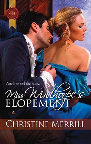 9780373295845: Miss Winthorpe's Elopement