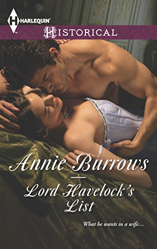 9780373298006: Lord Havelock's List (Harlequin Historical)