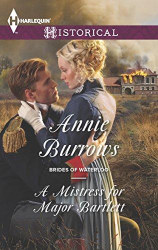 9780373298372: A Mistress for Major Bartlett (Brides of Waterloo)