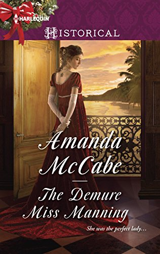 9780373298587: The Demure Miss Manning (Harlequin Historical)