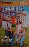 A Family Affair (Western Lovers: Kids 'n: Thacker, Cathy Gillen