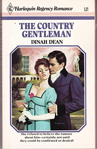 The Country Gentleman (Regency Category Romances): Dinah Dean