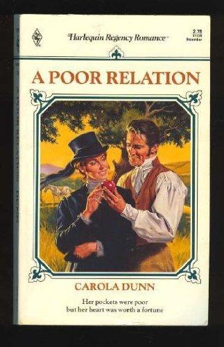 Poor Relation (Regency Romance #39): Dunn, Carola