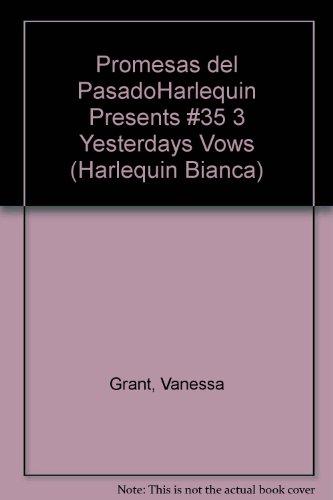 9780373333530: Promesas Del Pasado (Harlequin Bianca)