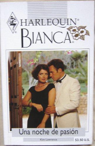 9780373335978: Una Noche De Pasion (Harlequin Bianca (Spanish))