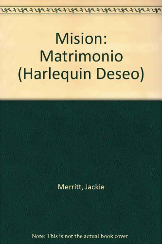 9780373351619: Mision: Matrimonio (Assignment: Marriage)