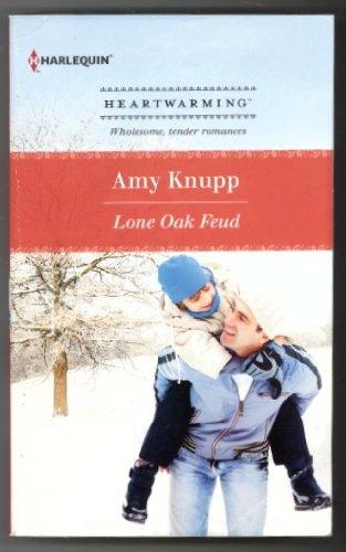 Lone Oak Feud (Harlequin Heartwarming) (Larger Print): Knupp, Amy