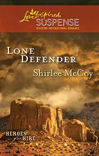 9780373444564: Lone Defender (Love Inspired Suspense)