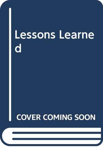 9780373504572: Lessons Learned (Silhouette special edition)