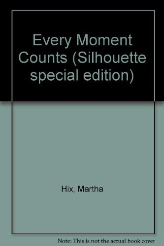 Every Moment Counts (0373505620) by Martha Hix
