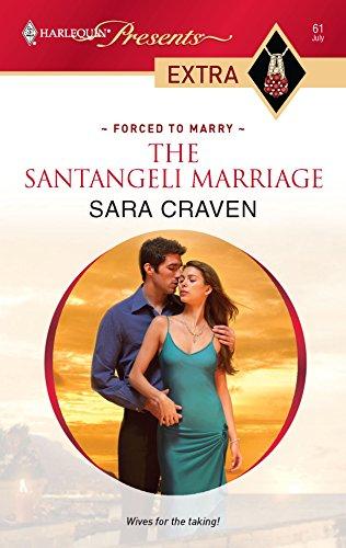 9780373527250: The Santangeli Marriage