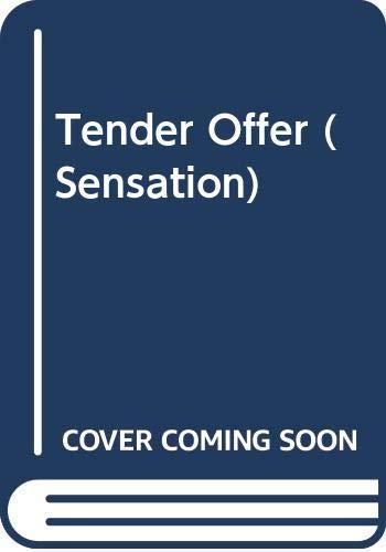 9780373581443: Tender Offer (Sensation S.)