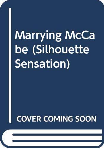9780373602384: Marrying McCabe (Silhouette Sensation - Large Print)