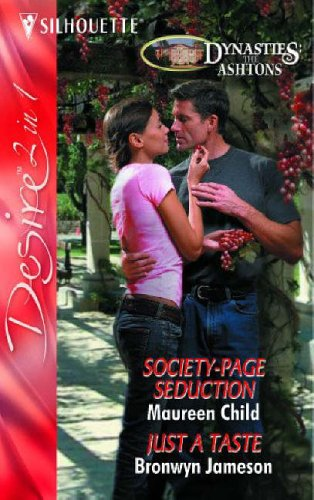 9780373603060: Society-Page Seduction / Just a Taste: Society-Page Seduction / Just a Taste: AND Just A Taste (Silhouette Desire)