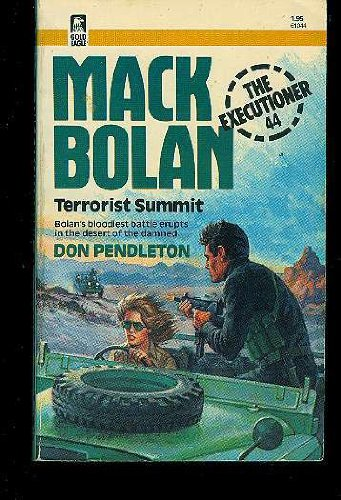9780373610440: Terrorist Summit (Mack Bolan Executioner Series No.44)