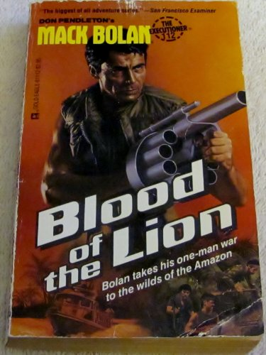 Blood of the Lion (Mack Bolan: The Executioner, No. 112): Pendleton, Don