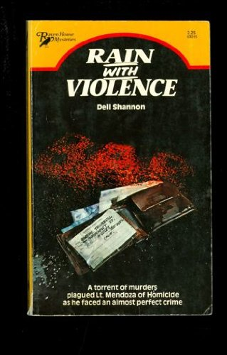 9780373630158: Rain With Violence