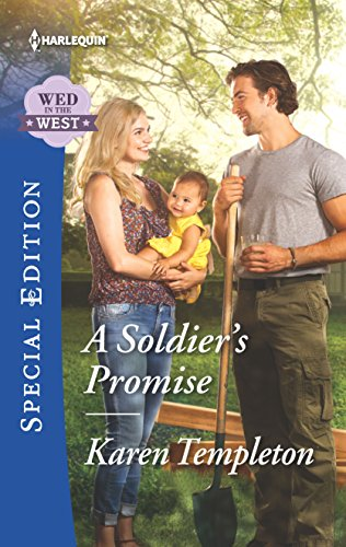 9780373659395: A Soldier's Promise (Wed in the West)