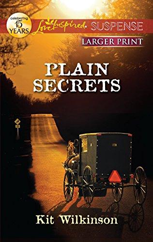 9780373675203: Plain Secrets (Love Inspired Large Print Suspense)