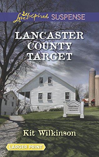 9780373676040: Lancaster County Target (Love Inspired LP Suspense)
